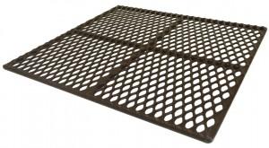 plastic coated animal flooring