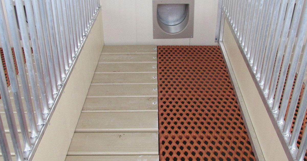 custom animal floors