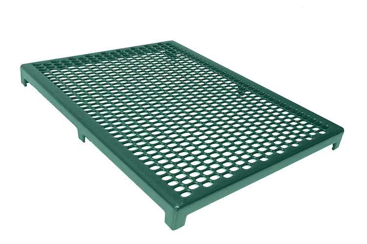 Cage Floor Completely Plastic Coated Perforated Steel