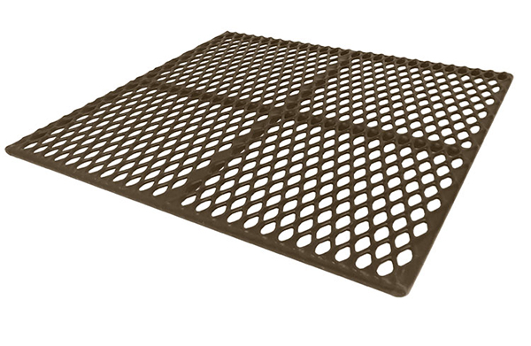 Animal Flooring PolyVinyl Coated Steel Standard And Custom Sizes - Rubber grate flooring