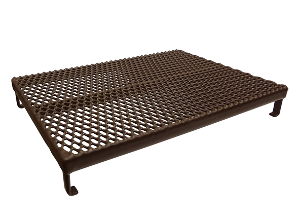 Brown coated industrial run cover product image