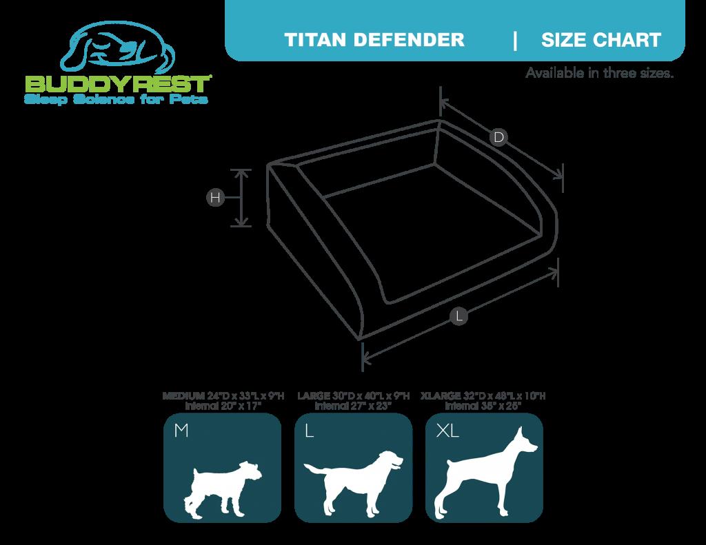 bolster dog bed sizes